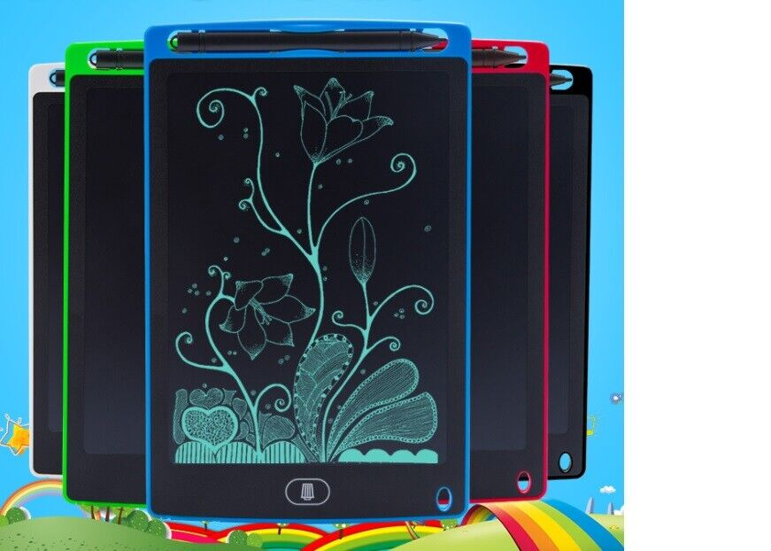 8.5″/12″ LCD Electronic Writing Tablet Digital Drawing Handwriting Pad and Pen Art Supplies