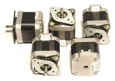 5 Nema 17 Shinano-kenshi Stepper Motors 60.8 Ozin Robot Reprap Makerbot Prusa