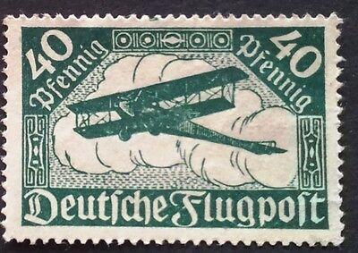 Deutsches Reich Mi.-Nr.  112 Flugpost postfrisch mit Pl.- Fehler
