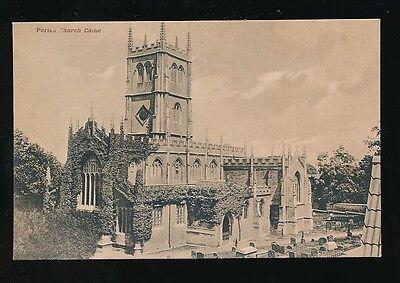 Wiltshire Wilts CALNE Parish Church c1900s? PPC