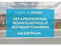 Virtual Office - £40 per month - Get a professional business address at Roundhay Chambers *LIMITED*