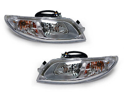 03-09 INTERNATIONAL TRUCK 4100/4200/4300/4400/8500/8600 HEADLIGHTS LAMPS PAIR