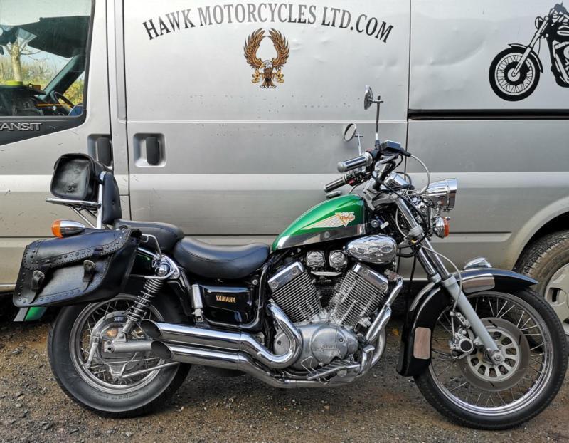 ONE OFF AMAZING 1994 YAMAHA XV535 VIRAGO, 14147 MILES, MANY EXTRAS | in  Blandford Forum, Dorset | Gumtree