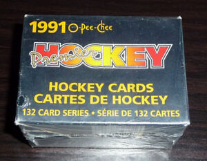 1990-91  O Pee-Chee Premier NHL Hockey Card Factory Sealed Set