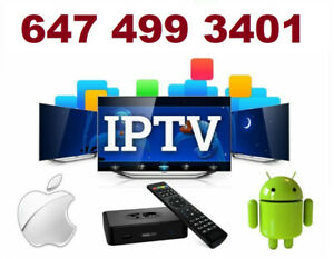 IPTV Subscription**Multi servers*FREE TRIAL*Contact 647 499 3401