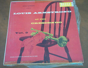 LP: Louis Armstrong At The Crescendo, Vol. 2