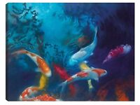 Koi Colours (Limited Edition) by Claire Frances Smith