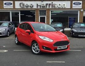 16 66 Ford Fiesta 1.0T 100ps EcoBoost 2016.5MY Zetec - IMMACULATE