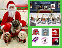 Berkeley's Place Pet Photos with Santa Fundraiser
