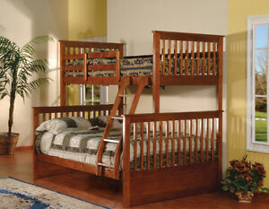 SOLID WOOD BUNK BEDS STRAT FROM $349 London Ontario image 2