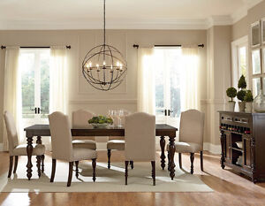 PUBLIC NOTICE --DINING TABLE SET TABLE + 4 DESIGNER CHAIRS $997