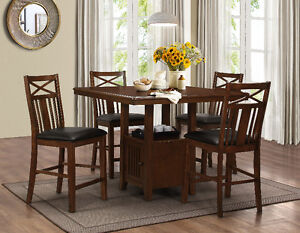 BRAND NEW 5PC STORAGE PUB TABLE FOR SALE FOR JUST $699