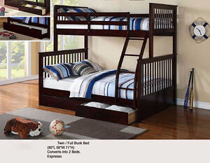 NEW SOLID PINEWOOD BUNKBEDS Stratford Kitchener Area image 2