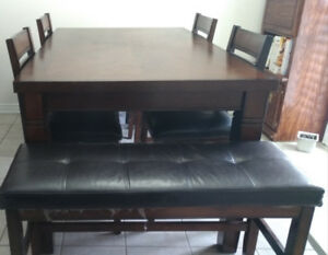8 seater kitchen dining table~ $250 or BEST OFFER
