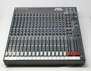 Soundcraft Spirit FX16 Mixing Console