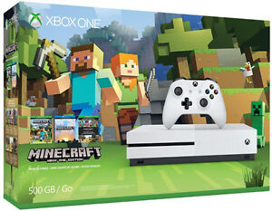 Xbox One S 500 GB Minecraft Bundle