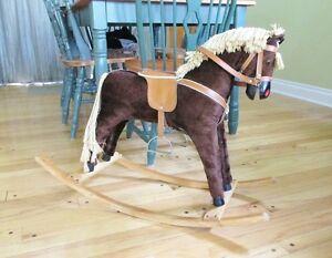 Vintage Child's Rocking Horse 1950s 60s
