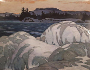 "A.J. Casson Limited Edition ""Ice Hummocks"""