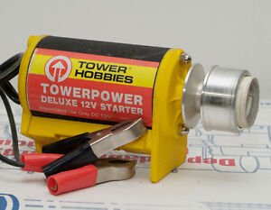 12v Starter for nitro glow gas RC Engines