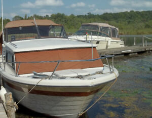 1979 24' Mercrusier with Cuddy Cabin,  Inboard Ford 351 V8,