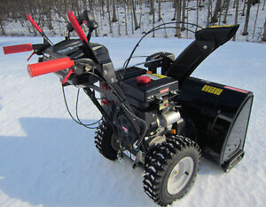 """ 11.5 HP. 28"" CRAFTSMAN Snowblower - Only One Year Old """