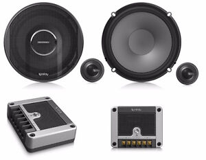"""Infinity By Harman Reference 6500cx 6.5"""" 2-Way Component Speaker"""