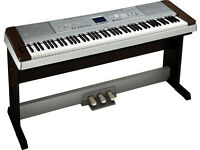 Yamaha DGX-640 , DGX640 88-Key Hammer Standard Portable Grand Piano with Stand and Three Pedals.