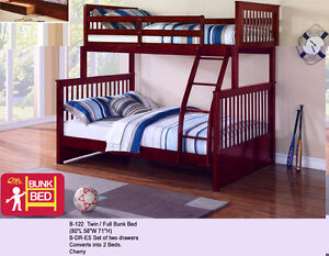 NEW SOLID PINEWOOD BUNKBEDS Stratford Kitchener Area image 3