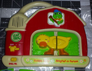 Leap Frog - Fridge Farm Magnetic Animals