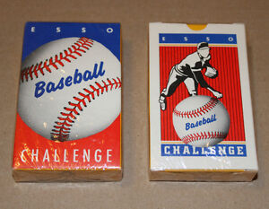 Esso Baseball Challenge Game Cards 1988 New and Sealed
