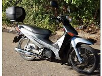 HONDA ANF125 INNOVA 2011 BIKE 1yrs mot on collection excellent runer just serviced with new battery.