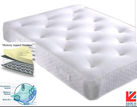 🇬🇧💚6FT SUPER KING SIZE MATTRESS SALE. MEMMORY ORTHO BED OUTLET