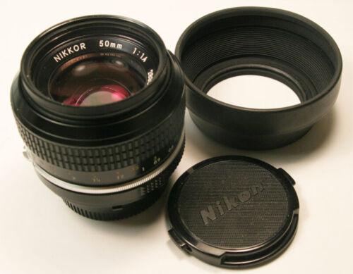 Nikon Nikkor 50mm f1.4 Ai M/F lens Exceptional