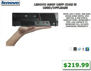 APPLE, HP, DELL, ACER, LENOVO, IBM, SUN JAVA REFURBISHED DESKTOP