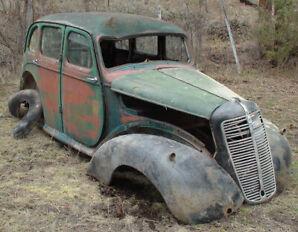 1940s Morris 10 Project Car