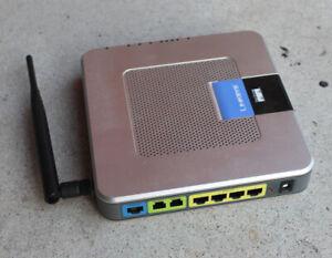 Linksys WRTP54G ATA VoIP Phone Adapter Unlocked Genuine