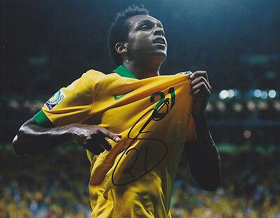 Jo Joao Silva Brazil World Cup Wc 2014 Signed Autograph 8X10 Photo Coa  2
