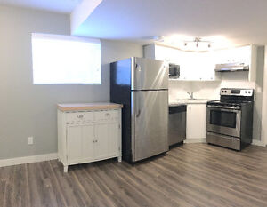 2 Bdrm Legal Basement Suite - New Infill, Utilities Included