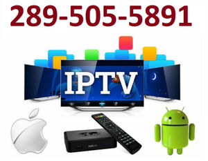 IPTV Subscription*Multiple servers**FREE TRIAL*Cont 289 505 5891