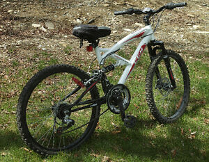 "CCM Alpine Full Suspension 24"" Mountain Bike"