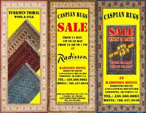 Caspian Rugs Centre is coming to Edmonton for a SHOW and SALE!