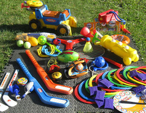 Variety of Outdoor Toys