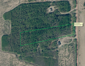 treed 4.99 acres East of Ardmore