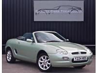 MG MGF 1.8 *Rare Aluminia Green + Last Owner 14 Years + Exceptional*