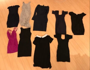 AMAZING DEAL: Nine stylish dresses ALL for $75  (Size Small)