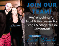 Hosts & Hostesses for Stag & Stagette Parties in Edmonton