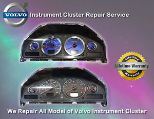 Volvo Instrument Cluster, DIM, dashboard Repair