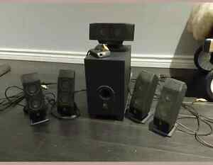 Logitech 5.1 Speakers