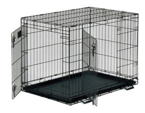 Mid West Life Stages black metal crate
