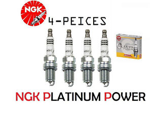 NGK G-Power BKR6EGP Platinum Spark plugs NEW in package 4pcs